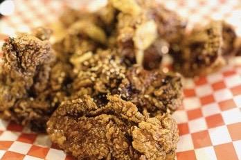 Garlic Korean Fried Chicken