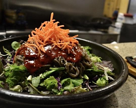 Spicy Buckwheat Noodle